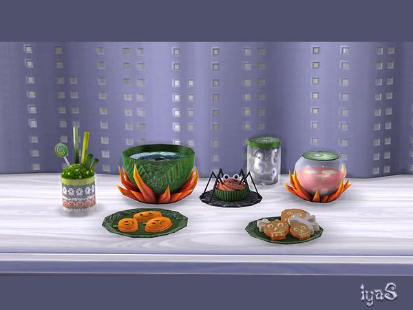 Halloween Treats by soloriya at TSR image 7418 Sims 4 Updates