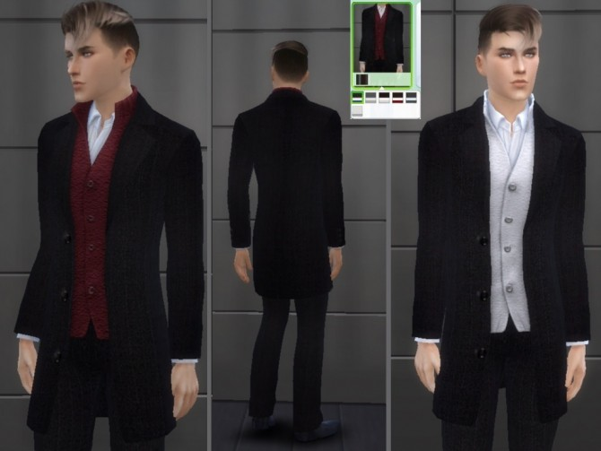 Suit for males at Tatyana Name image 746 670x503 Sims 4 Updates