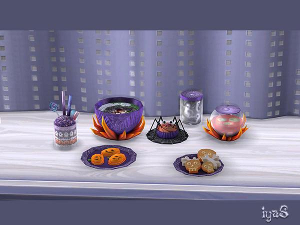 Halloween Treats by soloriya at TSR image 7518 Sims 4 Updates
