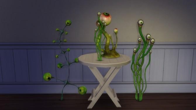 Halloween Gift Garden Of Creepy Eyes At Helen Sims 187 Sims