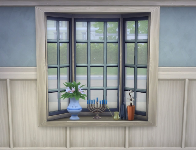Basic bay window slots by plasticbox at mod the sims for Discount bay windows