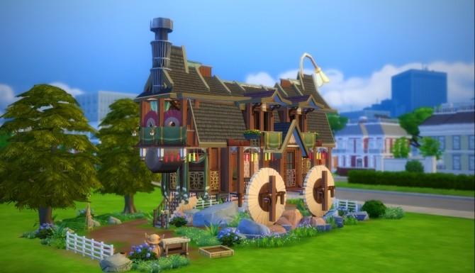 Sims 4 Lophiiformes house by Zagy at Mod The Sims