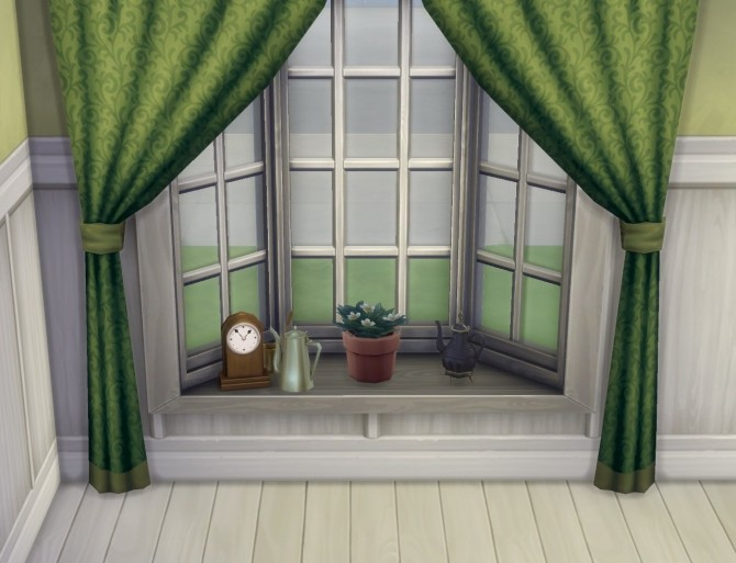 Basic Bay Window Slots by plasticbox at Mod The Sims image 791 670x513 Sims 4 Updates