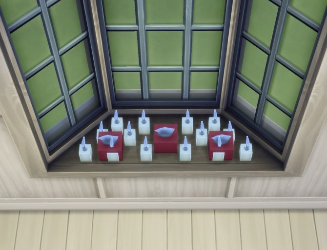 Sims 4 Basic Bay Window Slots by plasticbox at Mod The Sims