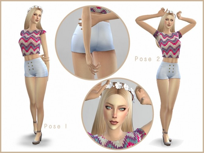Lemonade Simple Pose Pack By Screaming Mustard At Mod The
