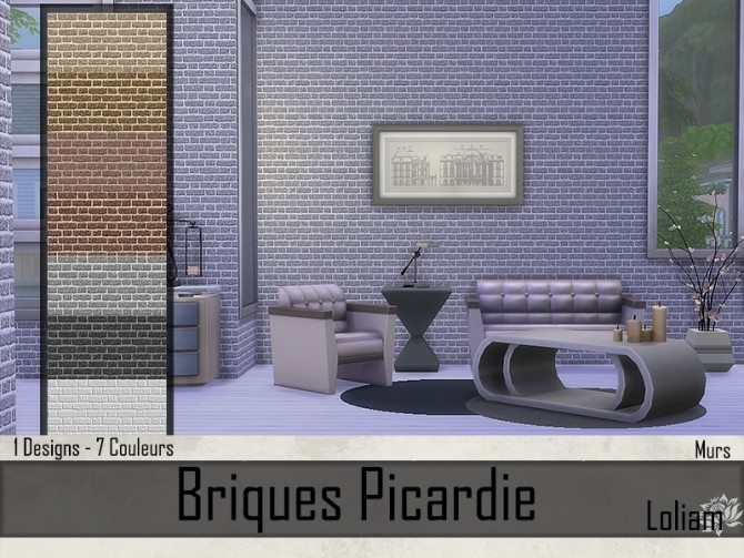Picardie brick walls by Loliam at Sims Artists image 8013 670x503 Sims 4 Updates