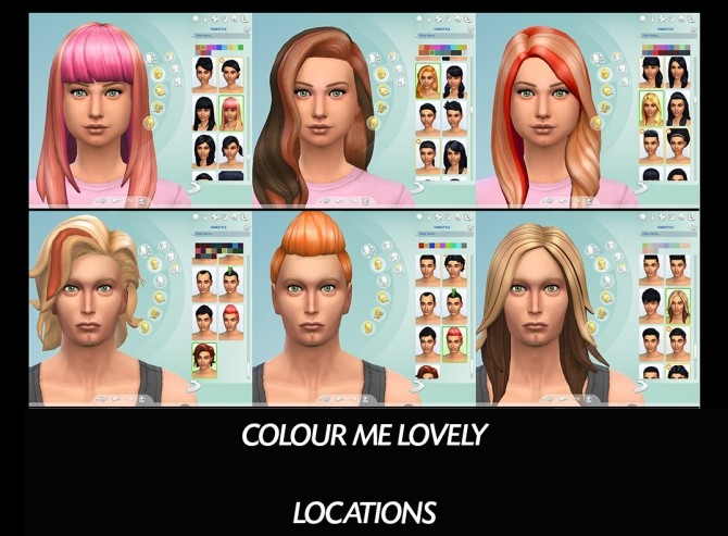 6 Base Game Hairs Recoloured by Simmiller at Mod The Sims image 8014 670x493 Sims 4 Updates