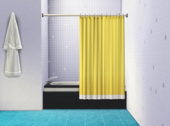 Bathtub Curtain By Plasticbox At Mod The Sims 187 Sims 4 Updates