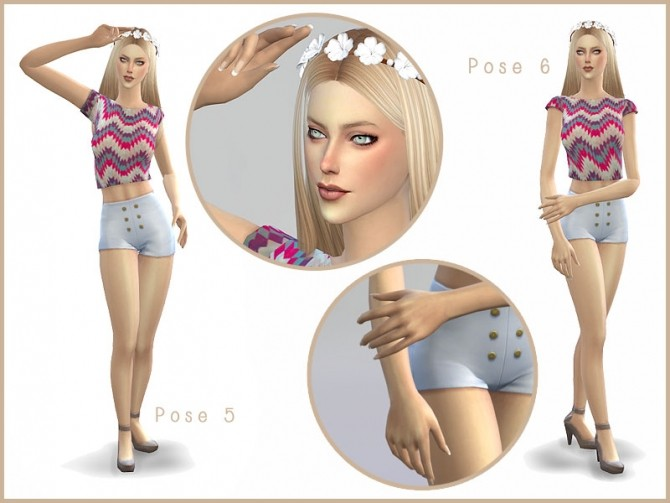 Sims 4 LEMONADE Simple Pose Pack by Screaming Mustard at Mod The Sims