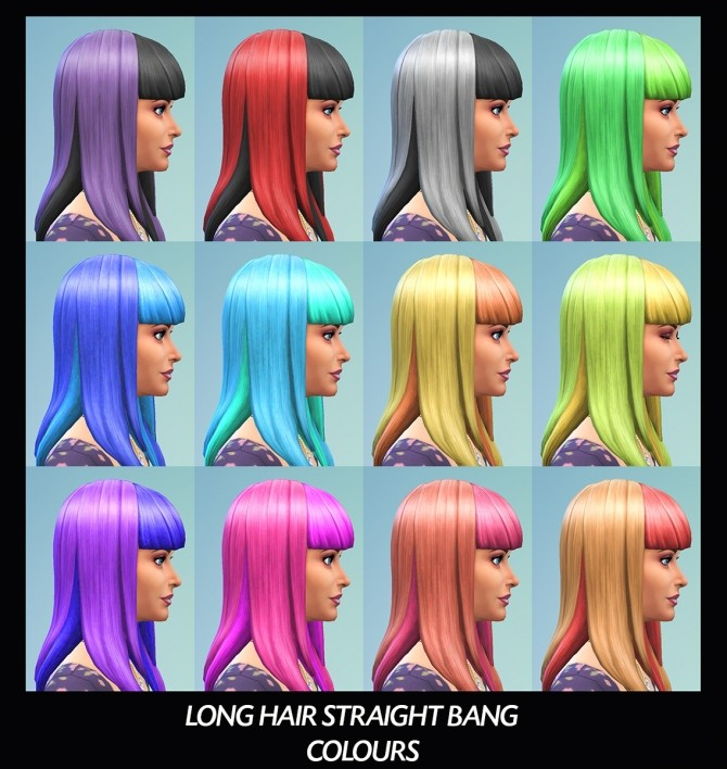 6 Base Game Hairs Recoloured by Simmiller at Mod The Sims image 8218 670x708 Sims 4 Updates