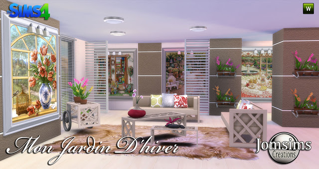 My winter garden at Jomsims Creations image 8221 Sims 4 Updates