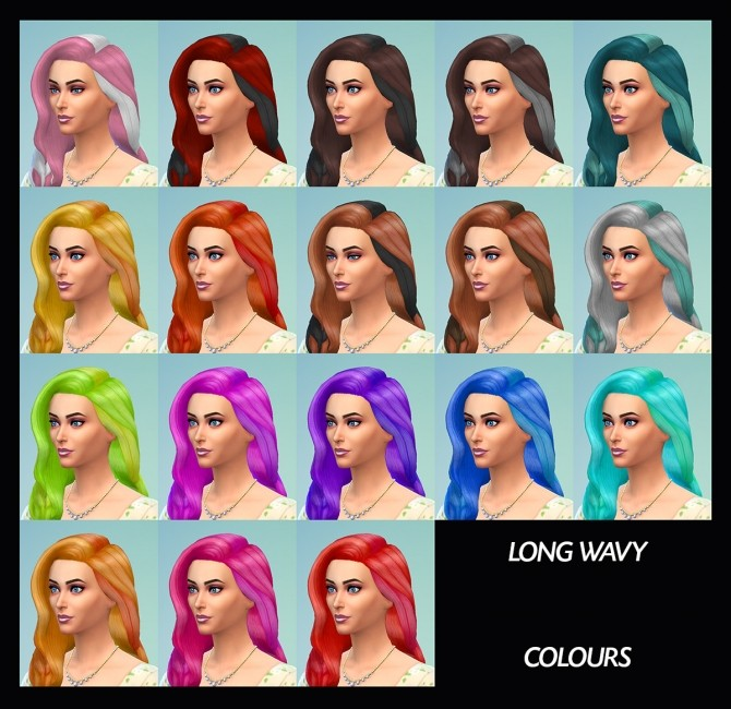 6 Base Game Hairs Recoloured by Simmiller at Mod The Sims image 8316 670x650 Sims 4 Updates