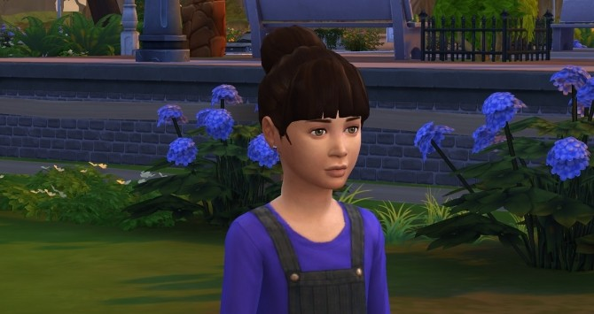 Sims 4 Birdie Bun at Birksches Sims Blog