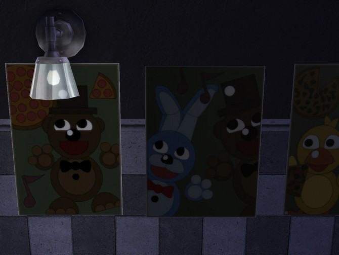 Five Nights At Freddy S Posters By Kirnolan At Mod The Sims 187 Sims 4 Updates