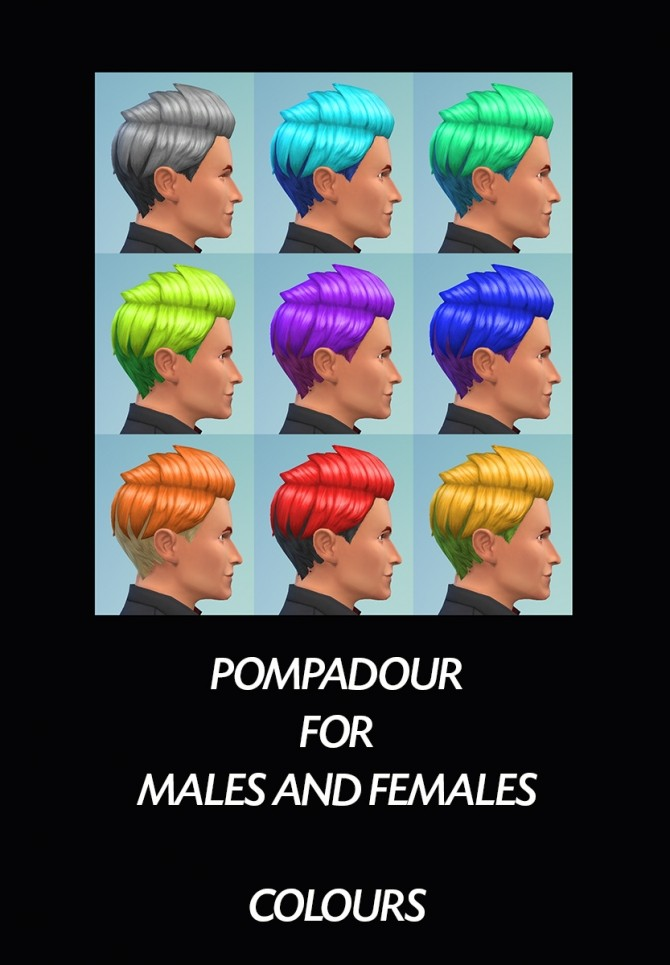 6 Base Game Hairs Recoloured by Simmiller at Mod The Sims image 8515 670x965 Sims 4 Updates
