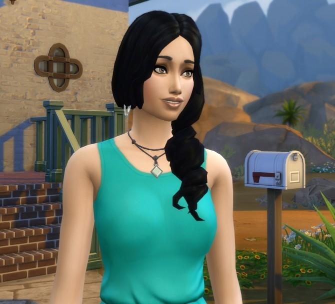 Mayra Delgado (NO CC) by Ireallyhateusernames at Mod The Sims image 856 670x607 Sims 4 Updates
