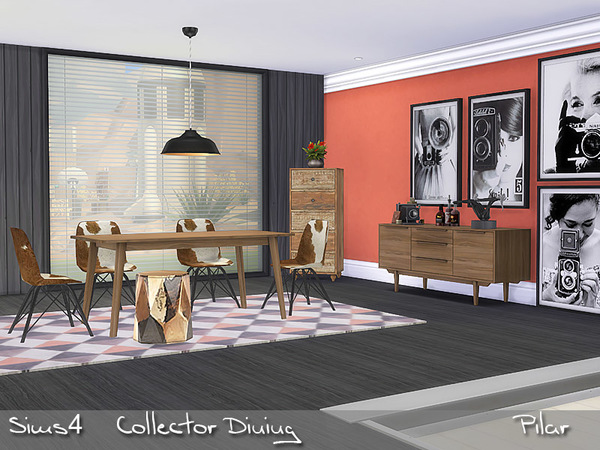 Sims 4 Collector Dining by Pilar at TSR