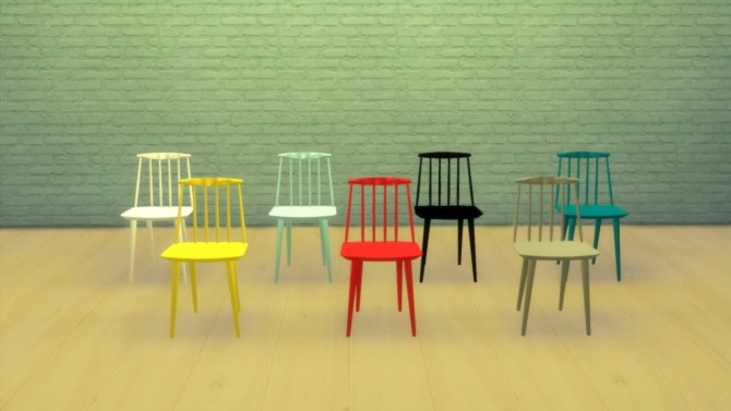J77 Chair by Hay at Meinkatz Creations image 908 670x377 Sims 4 Updates
