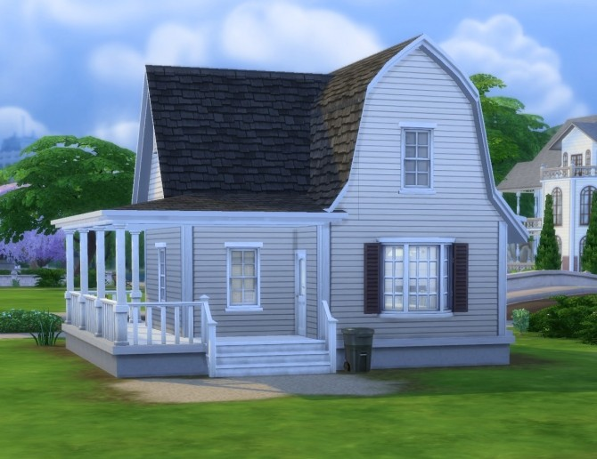 Sims 4 Bodoni house by plasticbox at Mod The Sims