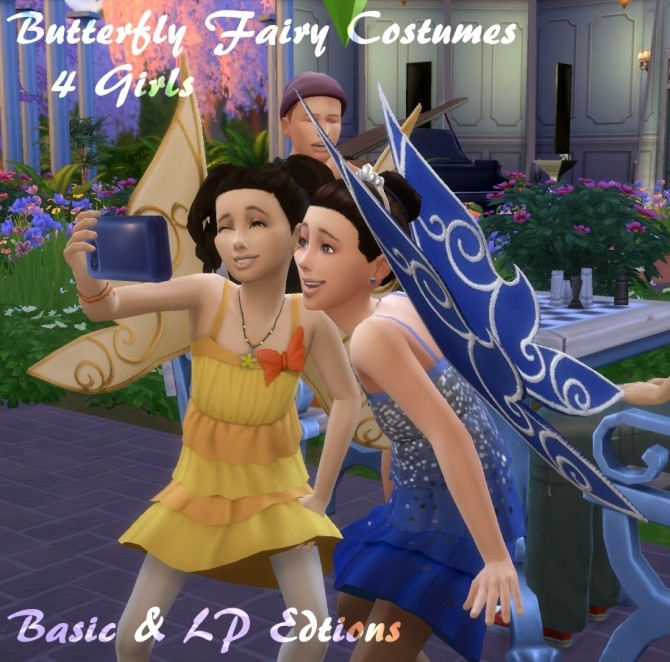 Butterfly Fairy Costume, Basic & LP Editions by VentusMatt at Mod The Sims image 9211 670x662 Sims 4 Updates