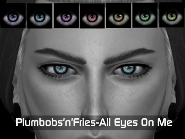 Sims 4 All Eyes On Me Eyemask by Plumbobs n Fries at TSR