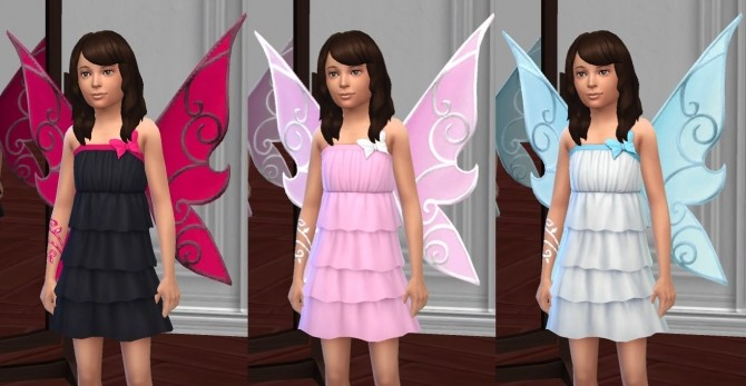 Butterfly Fairy Costume, Basic & LP Editions by VentusMatt at Mod The Sims image 939 670x347 Sims 4 Updates