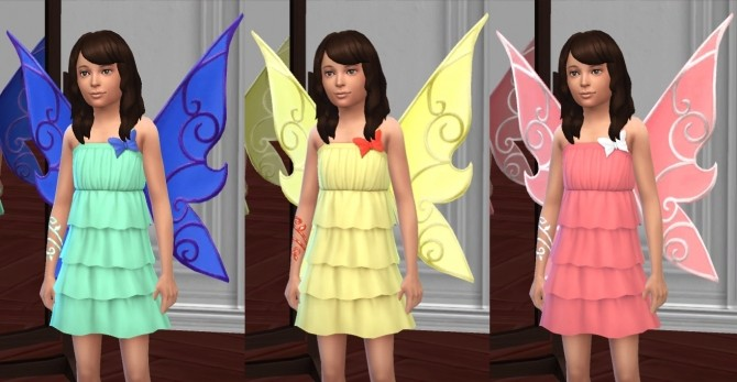 Butterfly Fairy Costume, Basic & LP Editions by VentusMatt at Mod The Sims image 948 670x347 Sims 4 Updates