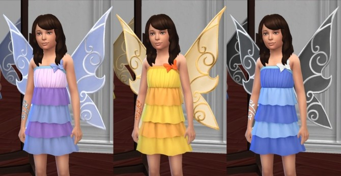 Butterfly Fairy Costume, Basic & LP Editions by VentusMatt at Mod The Sims image 958 670x347 Sims 4 Updates