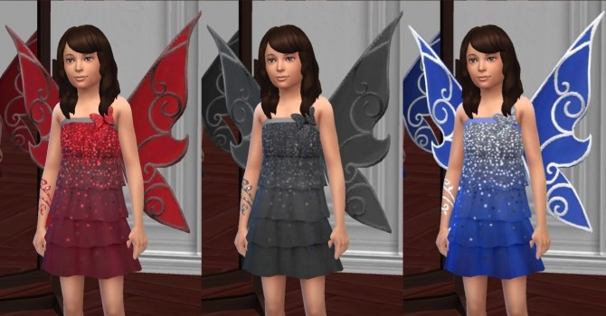 Butterfly Fairy Costume, Basic & LP Editions by VentusMatt at Mod The Sims image 969 670x350 Sims 4 Updates