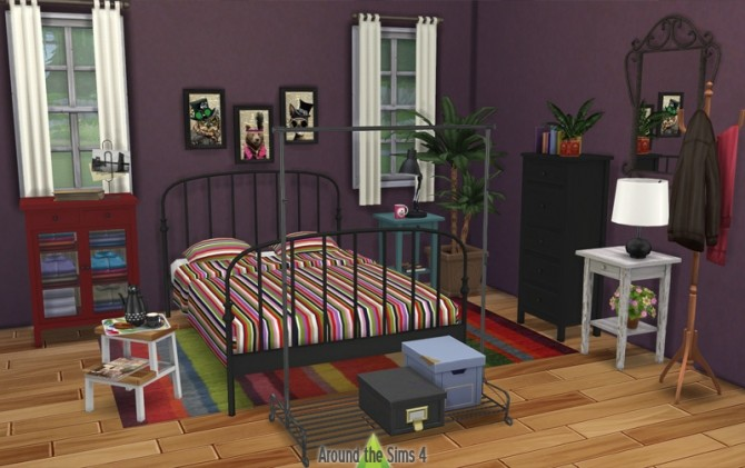 Ikea Like Bedroom By Sandy At Around The Sims 4 Sims 4 Updates