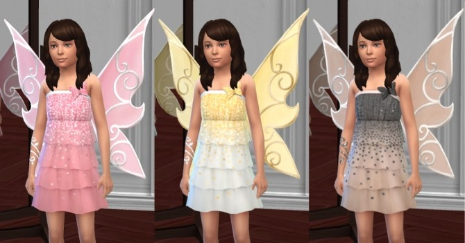 Butterfly Fairy Costume, Basic & LP Editions by VentusMatt at Mod The Sims image 979 670x351 Sims 4 Updates