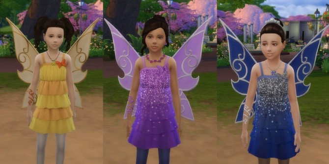 Butterfly Fairy Costume, Basic & LP Editions by VentusMatt at Mod The Sims image 989 670x335 Sims 4 Updates