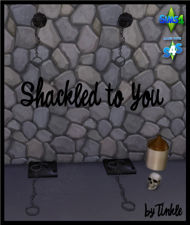 Sims 4 Shackled to You at Tinkerings by Tinkle