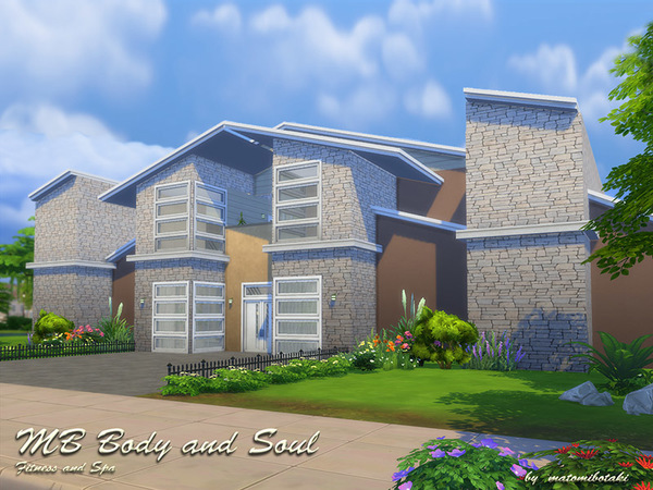 MB Body and Soul house by matomibotaki at TSR image 994 Sims 4 Updates