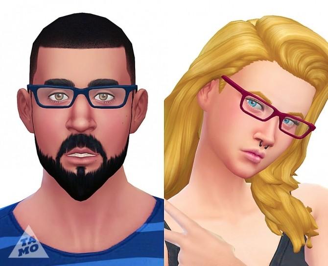 Sims 4 Mock Mods Glasses at Tamo