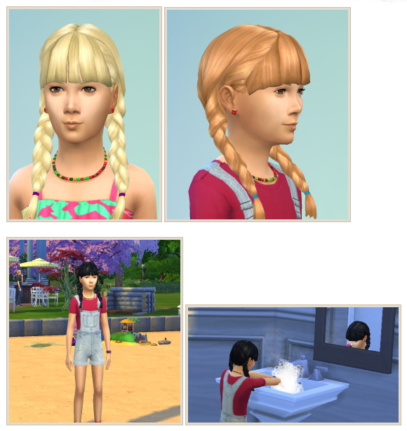 Pigtails with Bangs at Birksches Sims Blog image 997 Sims 4 Updates