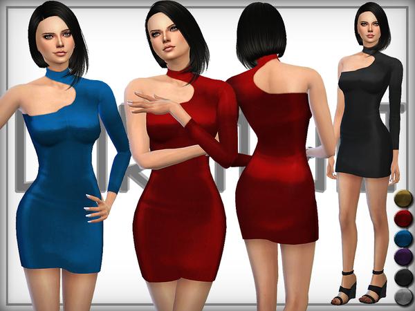 Sims 4 Shine dress by DarkNighTt at TSR