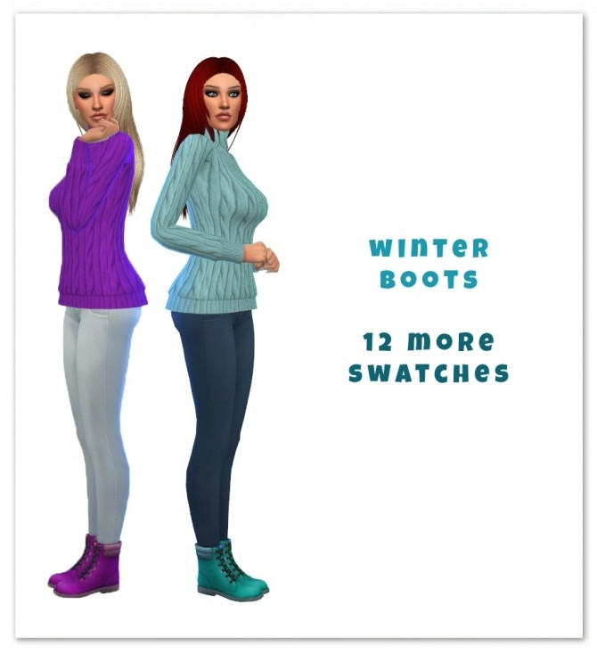 Winter Boots at Maimouth Sims4 image 1021 670x734 Sims 4 Updates
