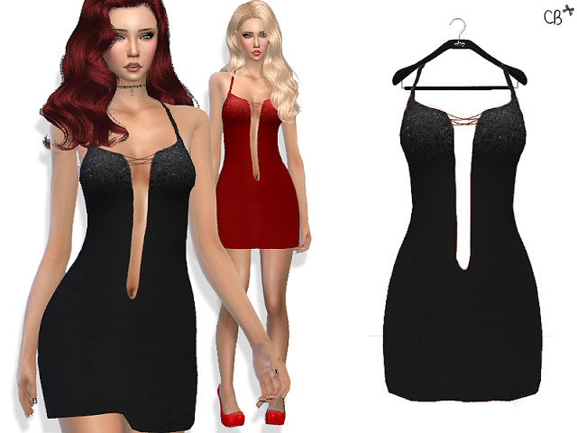 Luxury cocktail dress at Cherryberry image 10225 Sims 4 Updates