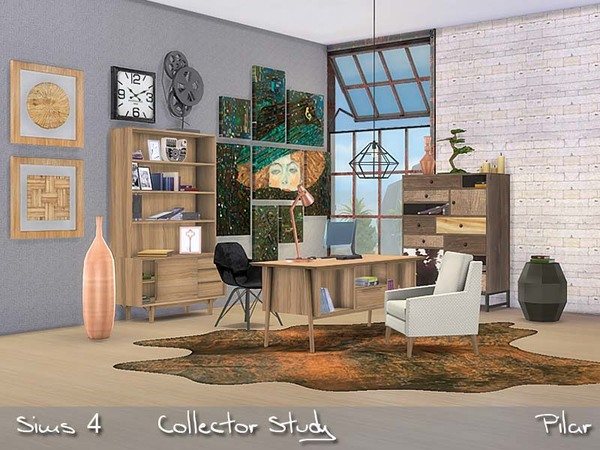 Collector Study by Pilar at TSR image 1030 Sims 4 Updates