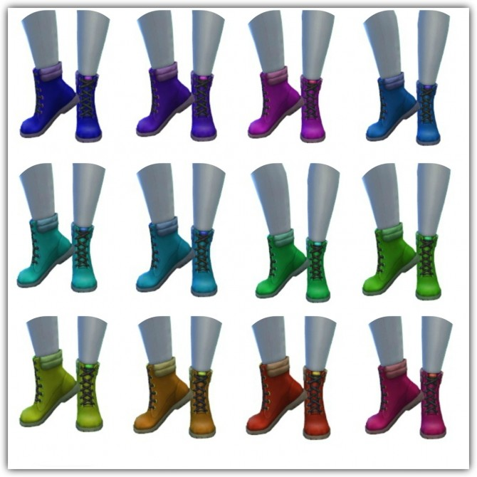 Winter Boots at Maimouth Sims4 image 1031 670x670 Sims 4 Updates
