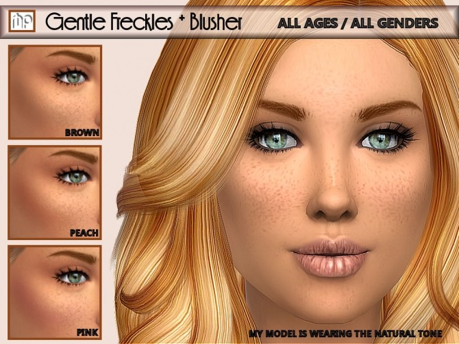 MP Gentle Freckles & Blusher N1 at BTB Sims – MartyP image 10615 670x503 Sims 4 Updates