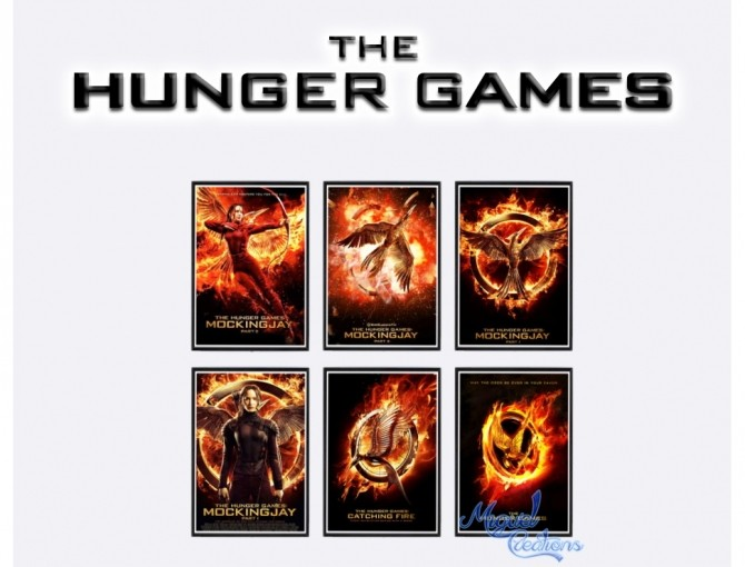 The Hunger Games Posters At Victor Miguel 187 Sims 4 Updates