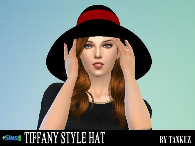 tiffany style hat at tankuz sims4  u00bb sims 4 updates