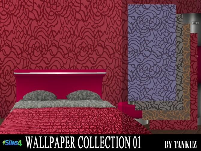 Sims 4 Wallpaper Collection 01 at Tankuz Sims4