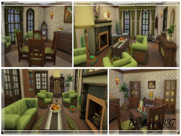 Sims 4 Springdale house by sharon337 at TSR