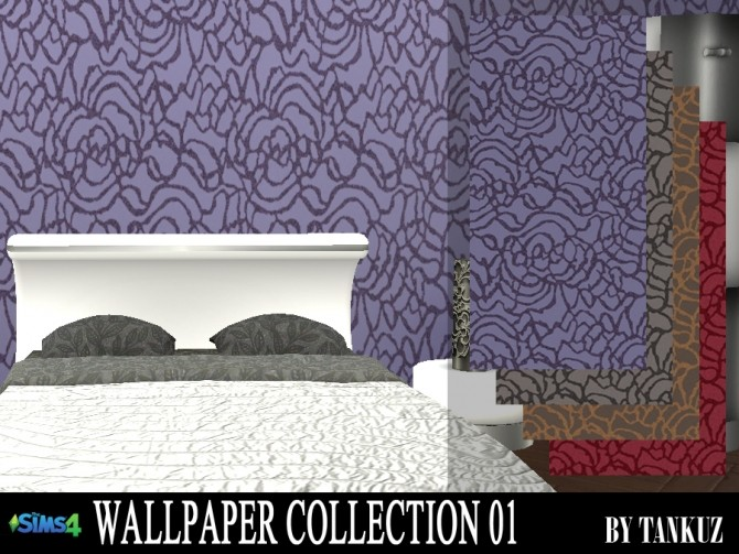 Wallpaper Collection 01 at Tankuz Sims4 image 1087 670x503 Sims 4 Updates