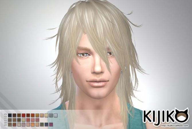 Sims 4 Shaggy Hair M TS3 to TS4 conversion at Kijiko