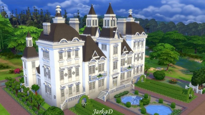 VICTORIA Mansion at JarkaD Sims 4 Blog image 1136 670x377 Sims 4 ...