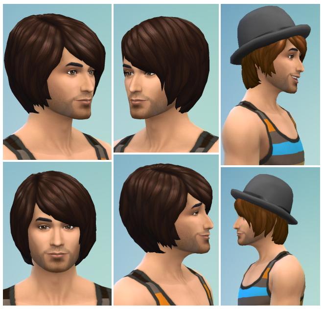 Sims 4 Men bob at Birksches Sims Blog